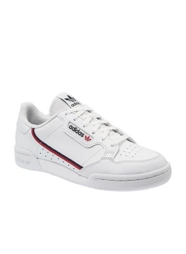 adidas Kadın Continental 80 Sneakers 252301 Beyaz